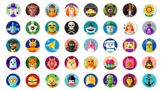 play games icons