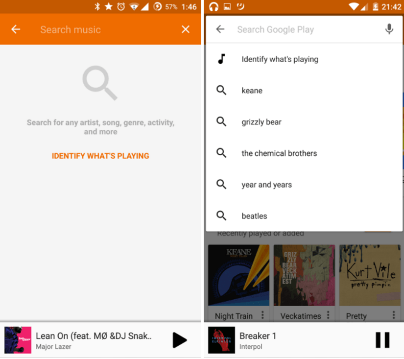 play music search