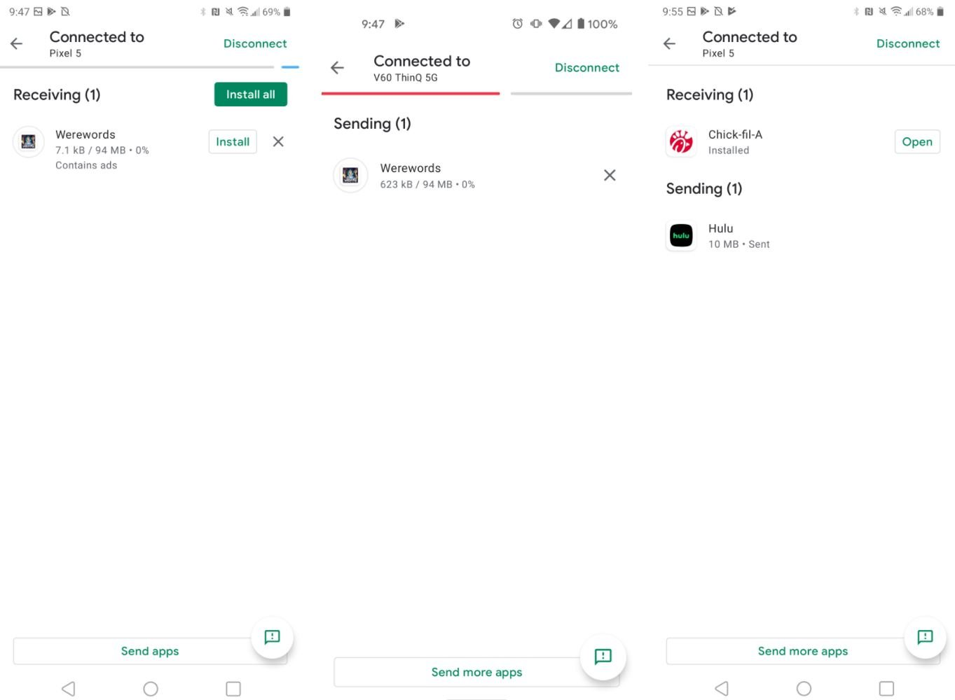 play store app share 3