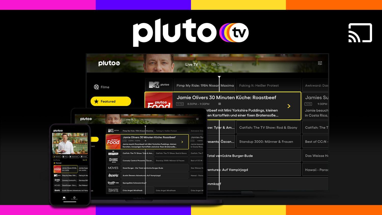 pluto tv chromecast streaming