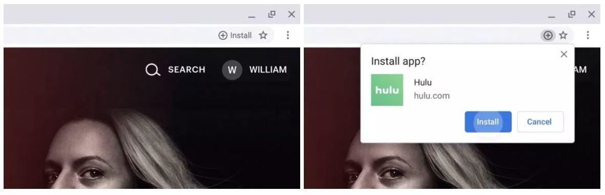 pwa install