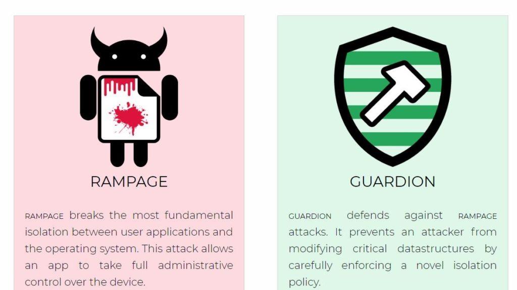 rampage guardion