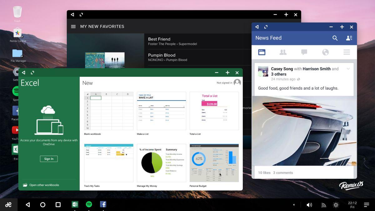 remix os desktop 3
