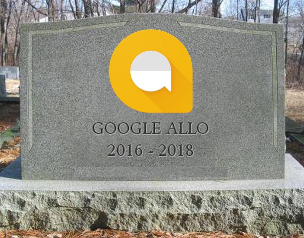 rip google allo