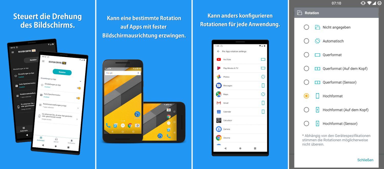 rotation control app