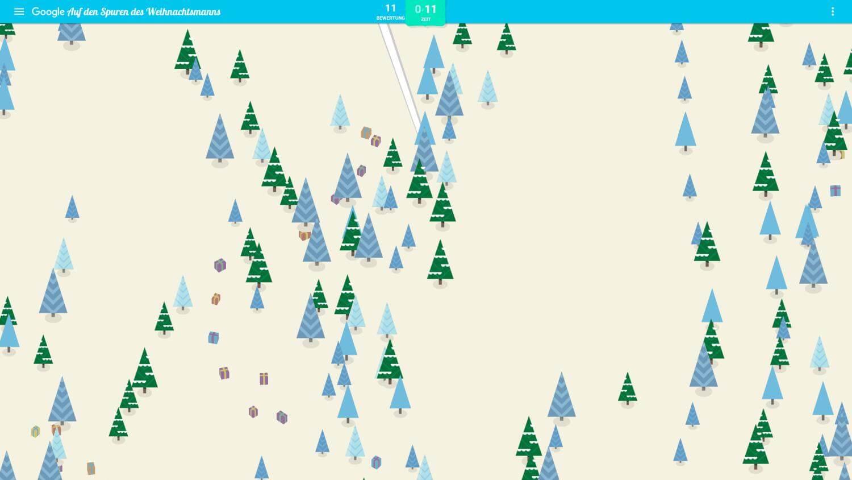 santa tracke elf ski