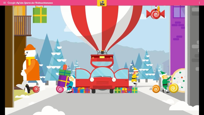santa tracker carpool