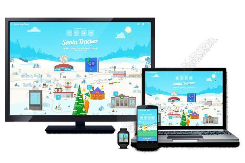 santa tracker devices