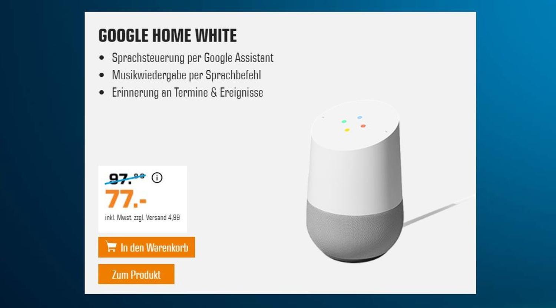 saturn google home aktion