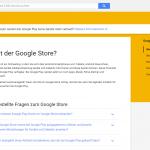 Google Store Hilfe