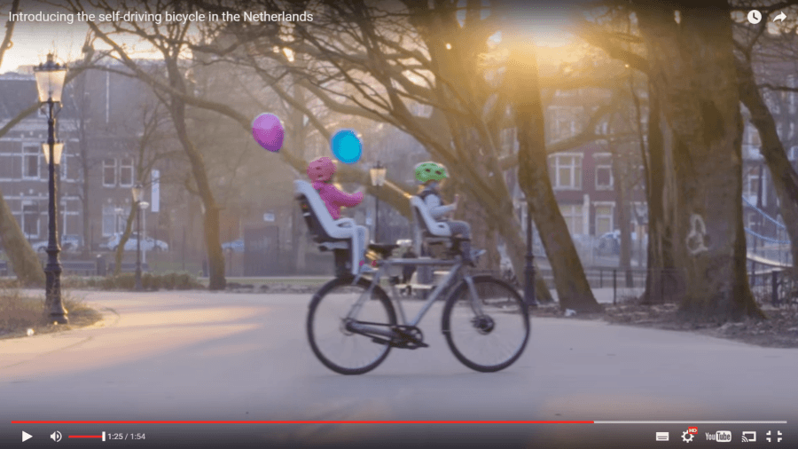 self driving bike