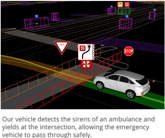 self driving rettungswagen