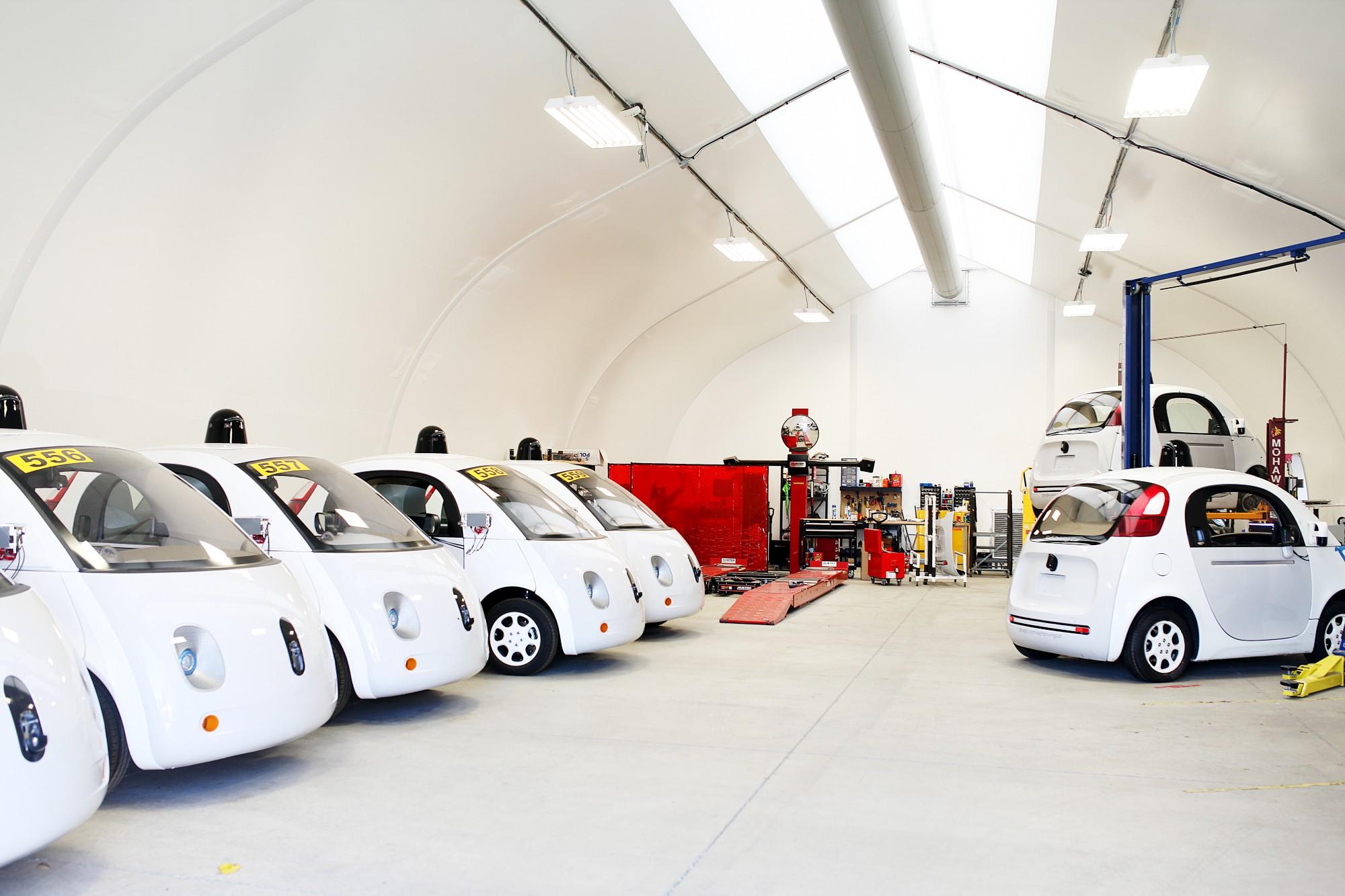 selfdrivingcar garage