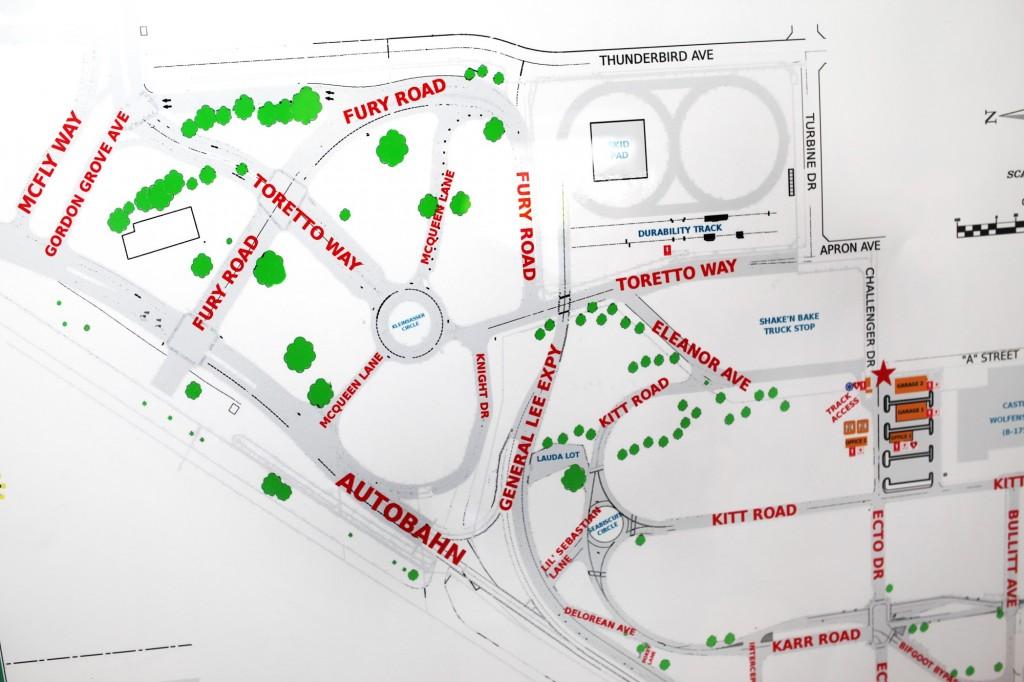 selfdrivingcar map