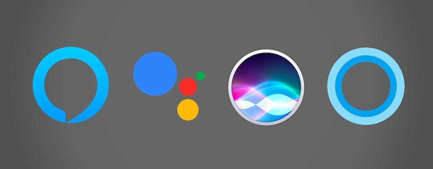 siri cortana google assistant alexa