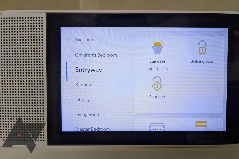 smart display lights and locks 2