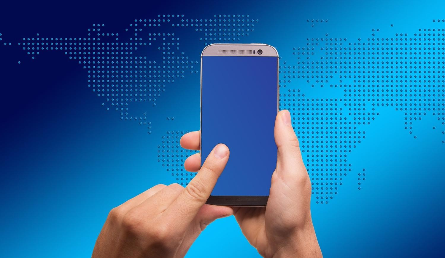 smartphone touch