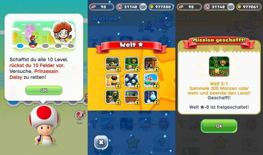 Riesiges Update für Super Mario Run: Neue Levels, neue Charaktere, halber Preis
