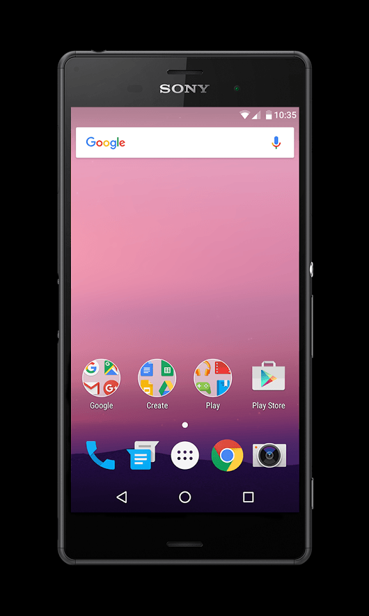 sony xperia z3 android n