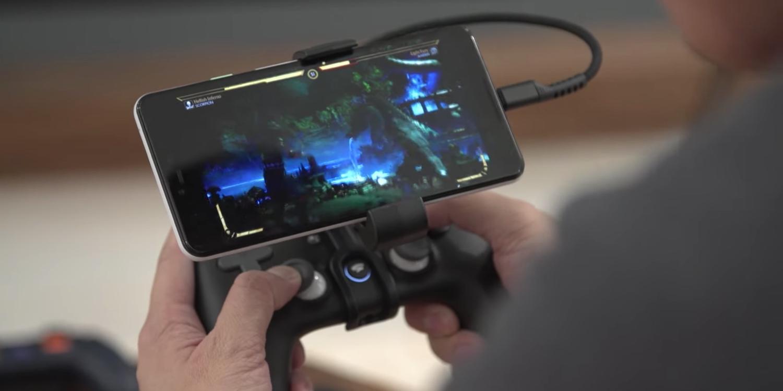 stadia controller smartphone