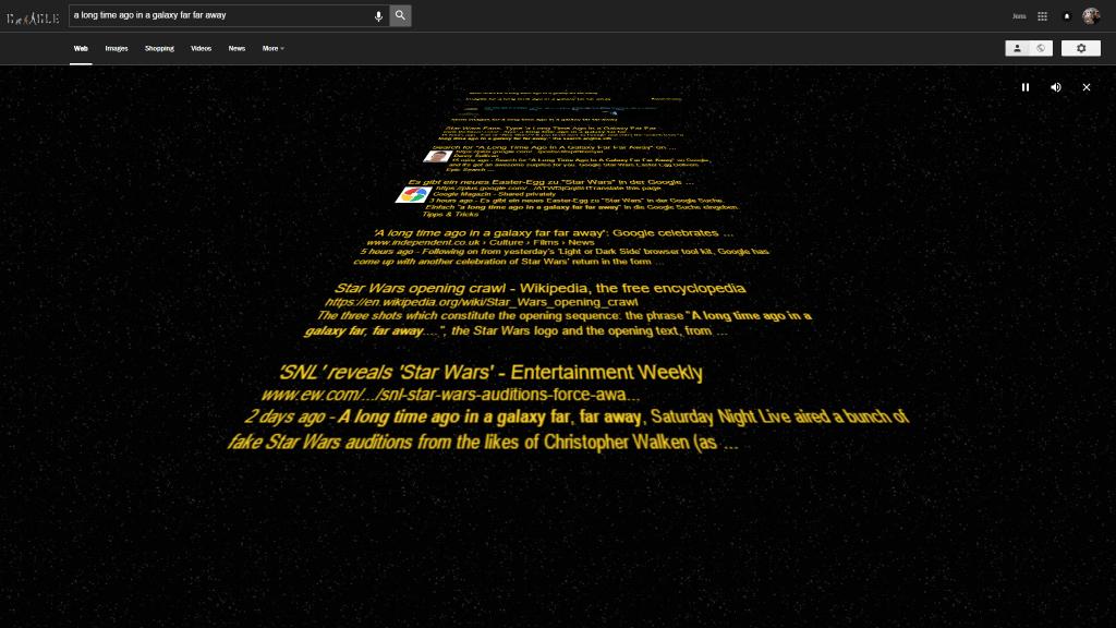 star wars eastereg