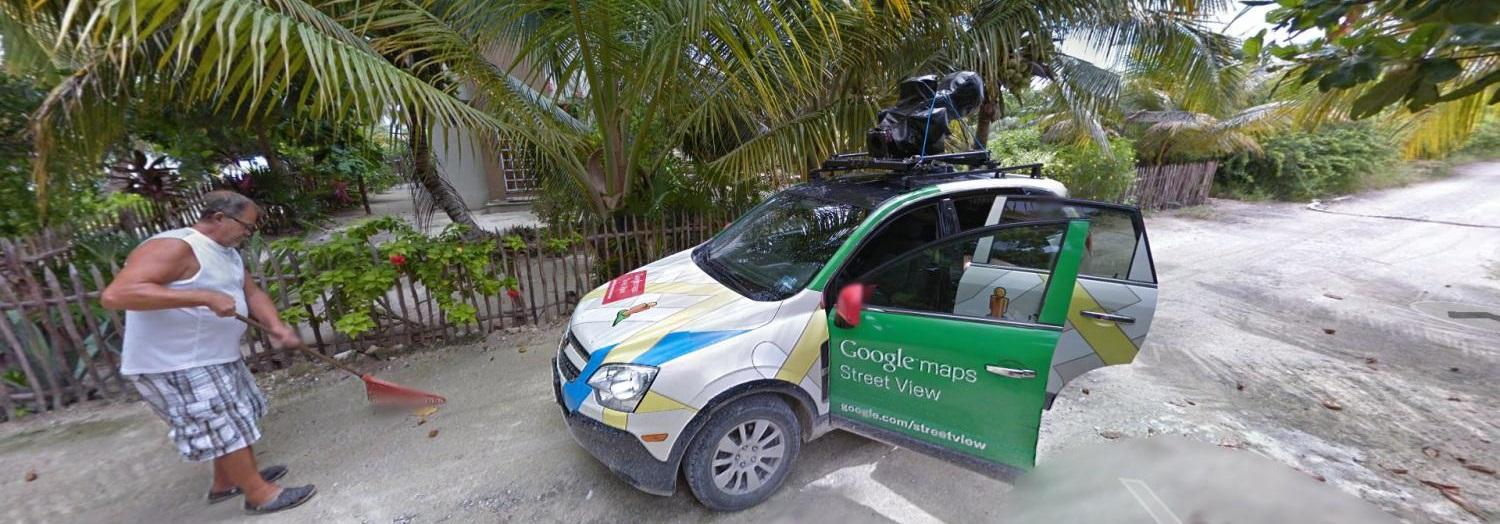 streetview car open small