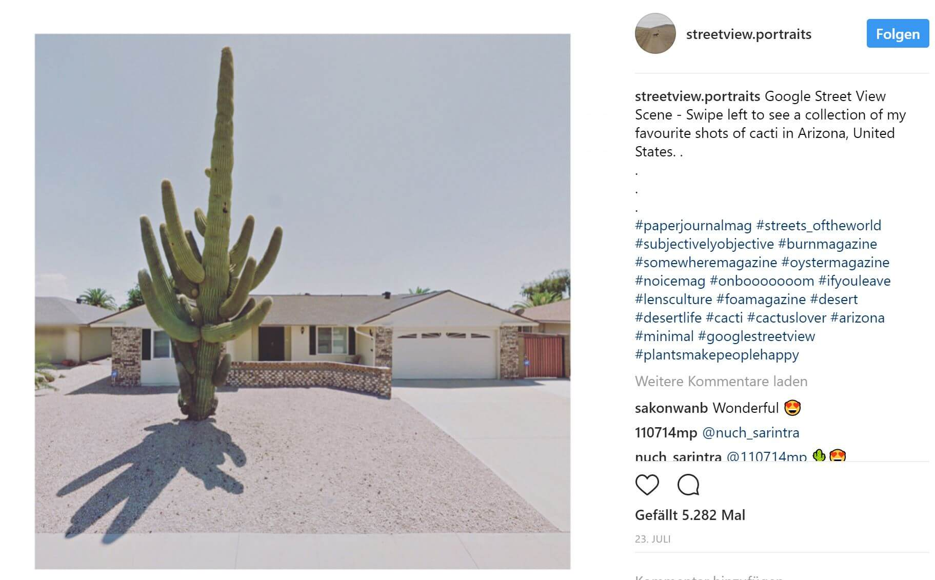 streetview instagram
