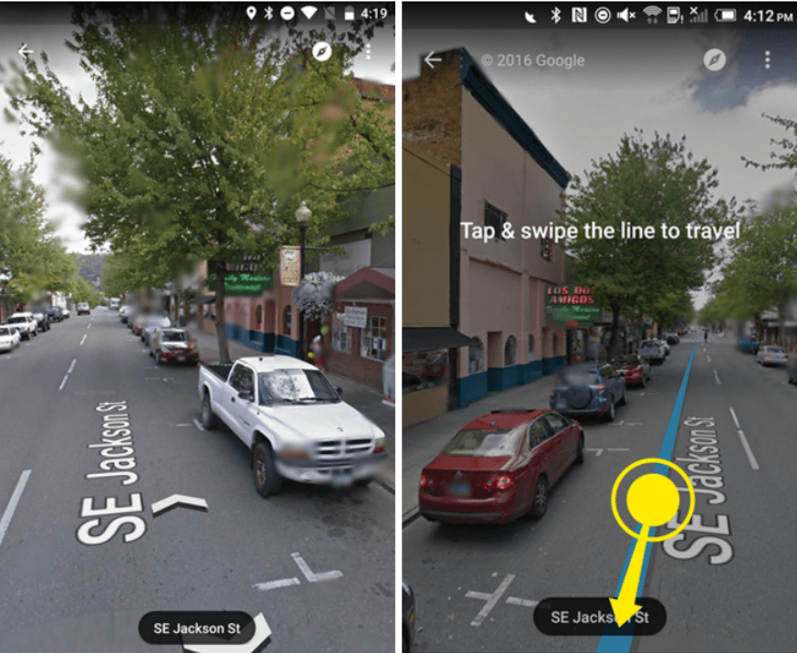 streetview navigation