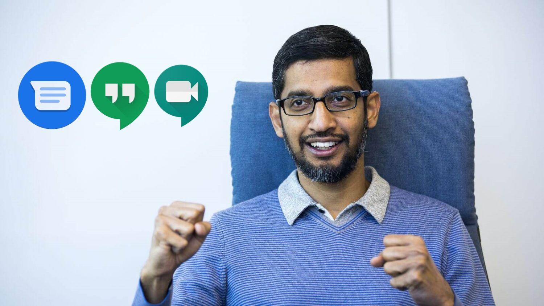 sundar pichai google messenger