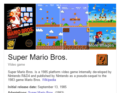 super mario bros easteregg