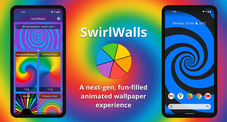 swirlwalls live wallpaper