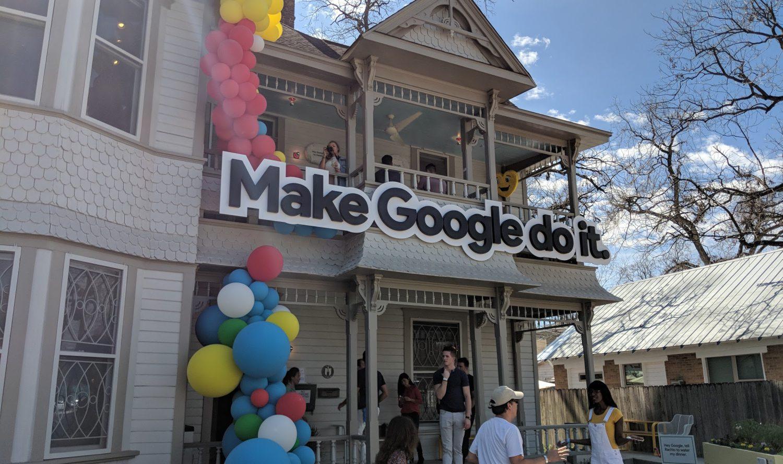 sxsw google assistant fun house
