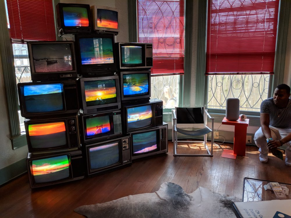 sxsw google assistant living room