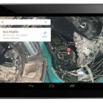 Google Maps 7.0 Tablet