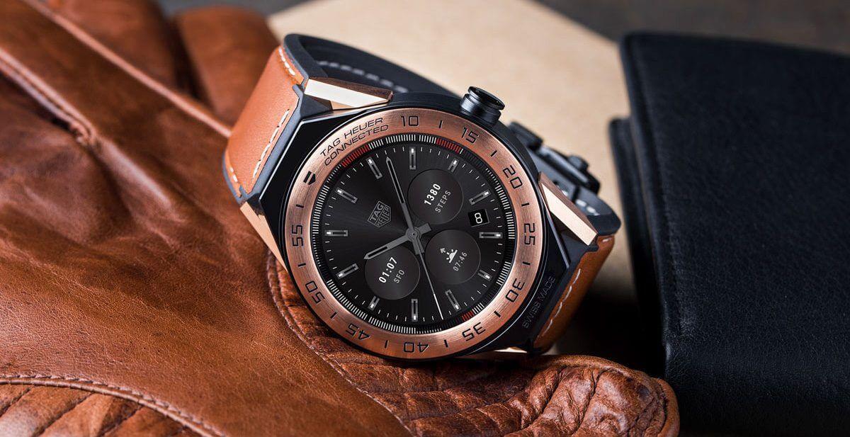 Neue modulare Luxus-Smartwatch mit Android Wear 2.0: TAG Heuer ...
