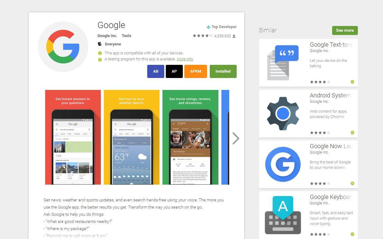 Direkter APK-Download: Neue Chrome-Extension bringt Links zu