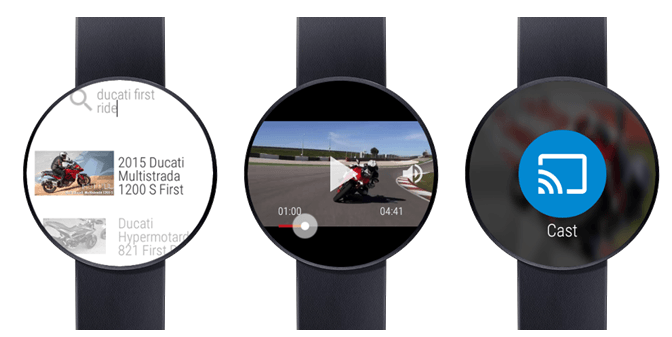 video for android wear