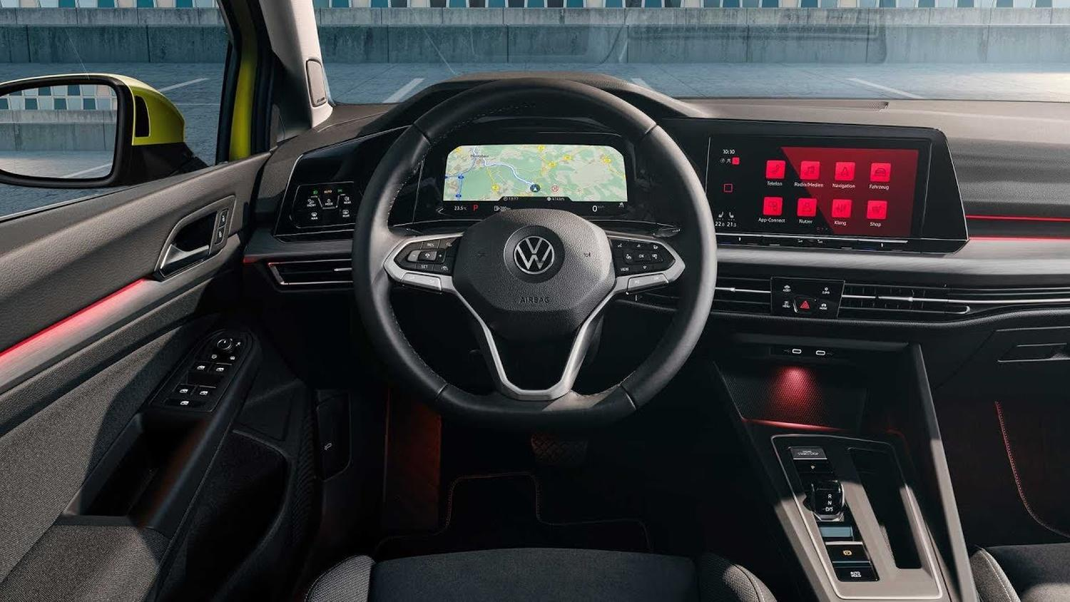 vw golf 8 assistant
