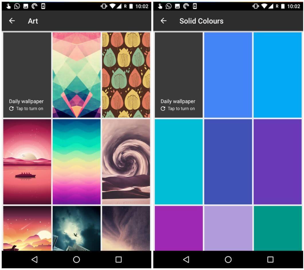 wallpaper app categories