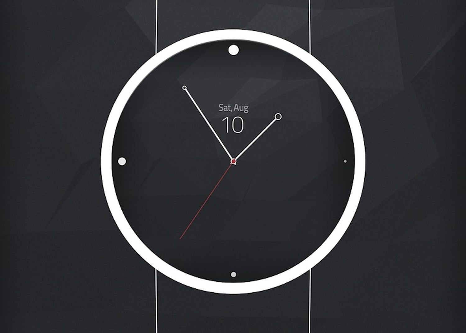 watch face pure analog