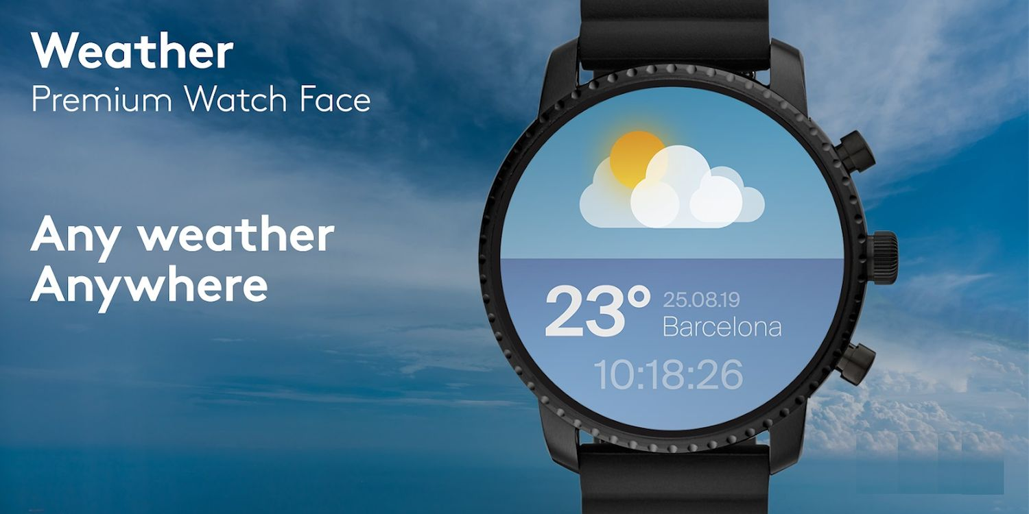 watch face weather cover