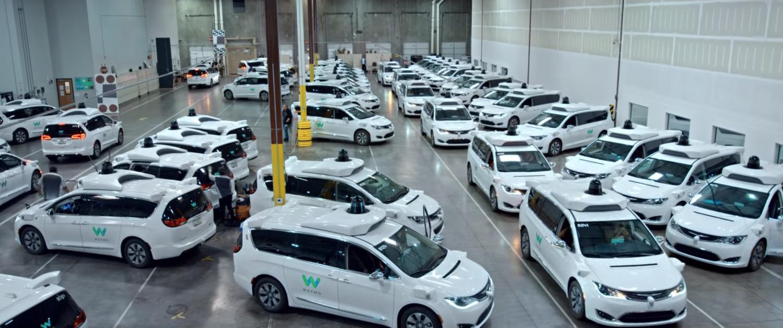 waymo cars factory