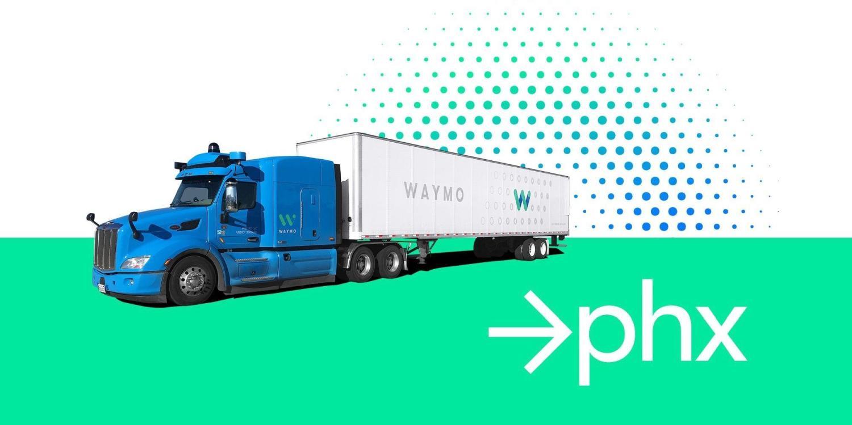 waymo truck phoenix