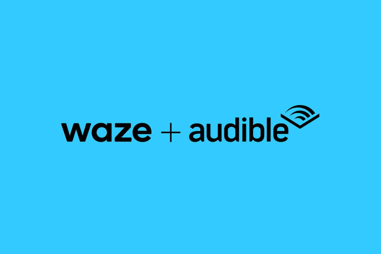 waze audible logo