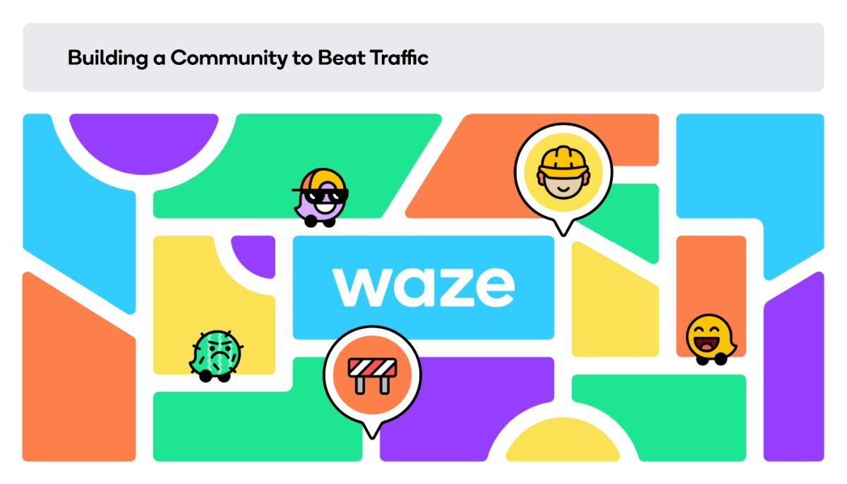 waze community traffic
