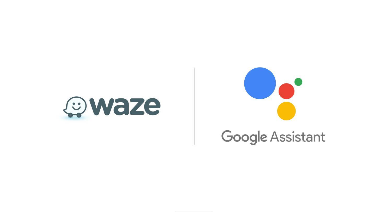 waze google assistant logo