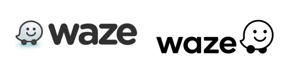 waze logo comparison
