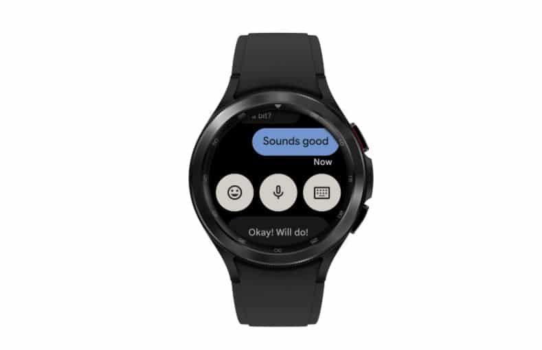 wear os messages