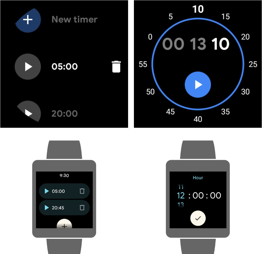 wear os neues material you design 2