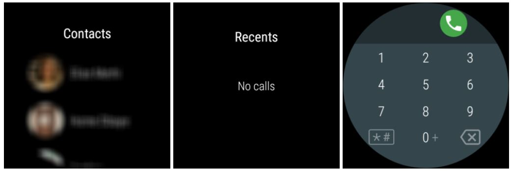 wear os telefon alt